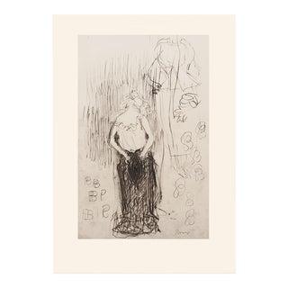 """1959 Pierre Bonnard """"Toilette"""", Art Nouveau First Edition Lithograph For Sale"""