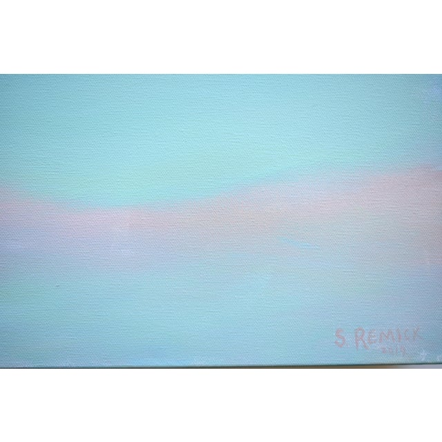 """Modern """"Layered Clouds"""" Contemporary Painting by Stephen Remick For Sale In Providence - Image 6 of 11"""