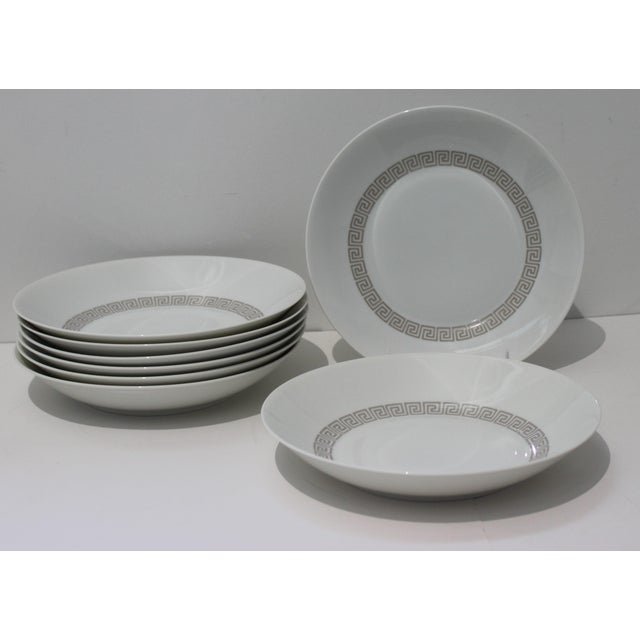 """Ceramic Mid-Century Modern Rosenthal """"Athenia"""" Dinner Service for 8 Plus Serving Pieces - 63 Items Total For Sale - Image 7 of 13"""