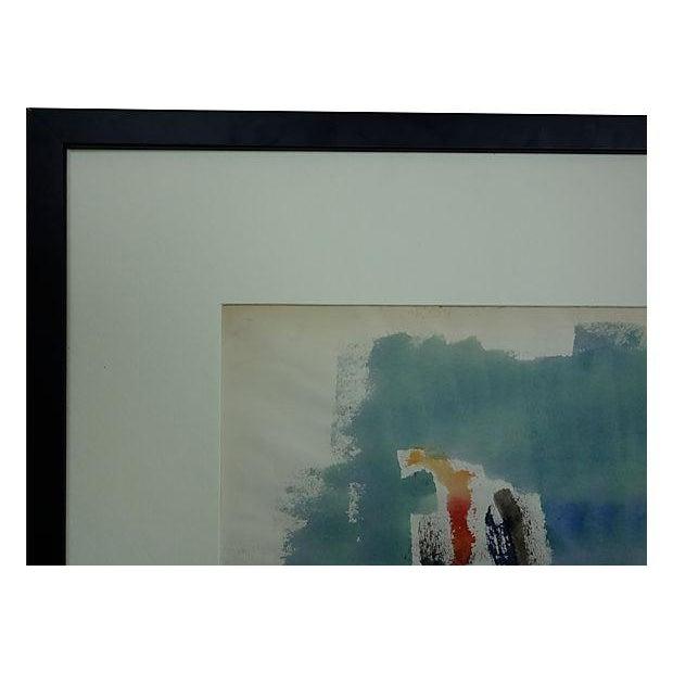 Andante Violin Watercolor Painting - Image 5 of 5