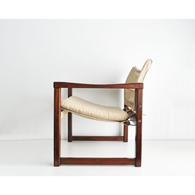 Vintage Safari Style Lounge Chair - Image 5 of 9