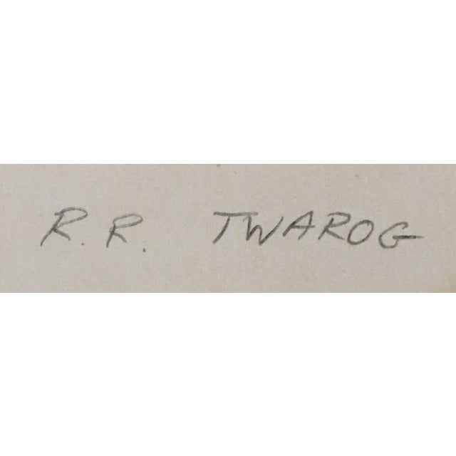 White 1970s Polaroid Photographs by R. R. Twarog For Sale - Image 8 of 10