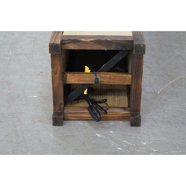 Asian Arts & Crafts Kojima Style Floor Lamp - Pair - Image 7 of 10