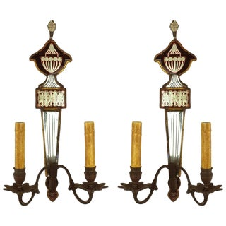 19th Century English Regency Sconces - A Pair For Sale