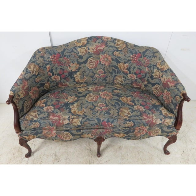 Hickory Chair Company Louis XV Style Settee For Sale - Image 9 of 11