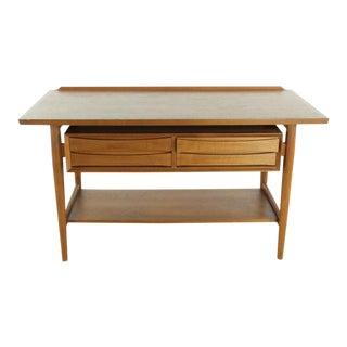 Mid-Century Modern Arne Vodder for Sibast Møbler Teak Console Table For Sale