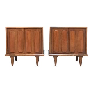 Mid Century Modern Nightstands by American of Martinsville-a Pair For Sale