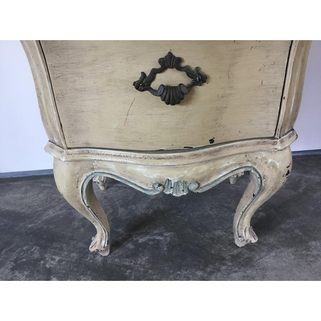 French Bombay Style Night Stand For Sale - Image 10 of 11