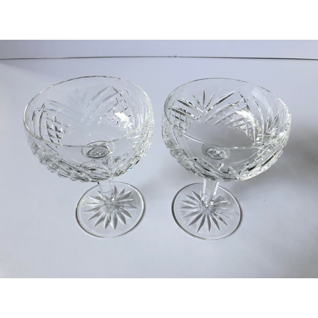 (3 sets) AVAILABLE. Waterford Lismore Essence Saucer Champagne Glasses NEW, NEVER USED, BEAUTIFUL!! The House of Waterford...