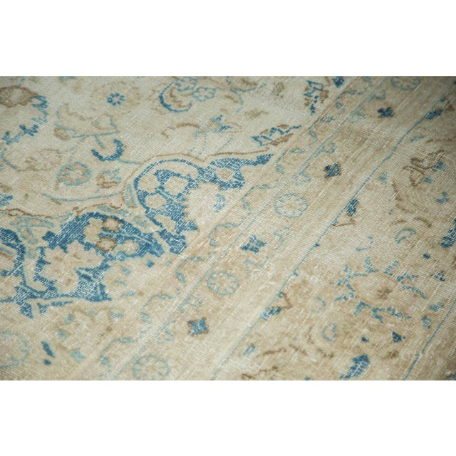 """Islamic Vintage Distressed Meshed Carpet - 9'9"""" x 12'10"""" For Sale - Image 3 of 9"""
