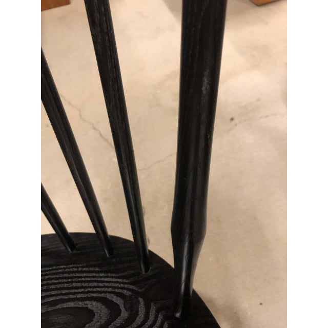 2010s O & G Studio Windsor Dining Chair in Ebony, 25+ Available For Sale - Image 5 of 10