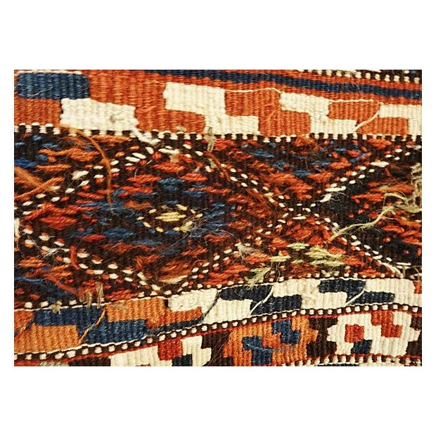 19th Century Azeri Kilim Runner - Image 4 of 7