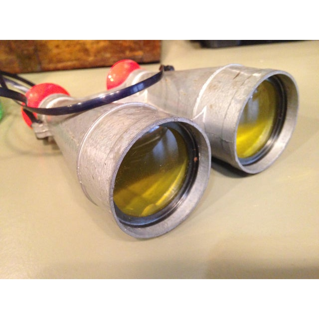 Silver Original 1950s Tom Corbett Space Cadet Sci-Fi Binoculars For Sale - Image 8 of 8