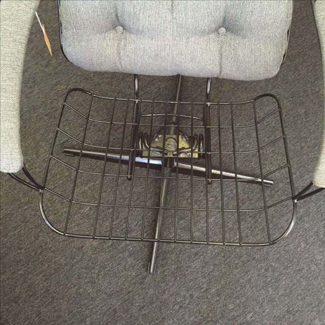 Homecrest Metal Wire Chair With Upholstery - Image 8 of 8