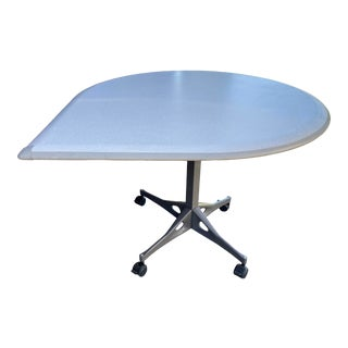 1980s Herman Miller Tear Shaped Rolling Conference Table For Sale