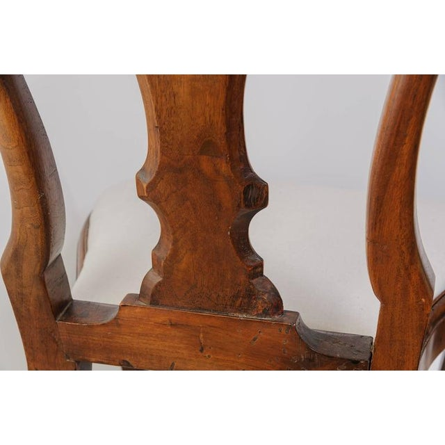 Set of Four 19th Century Queen Anne Revival Side Chairs with Slip Seats - Image 5 of 9
