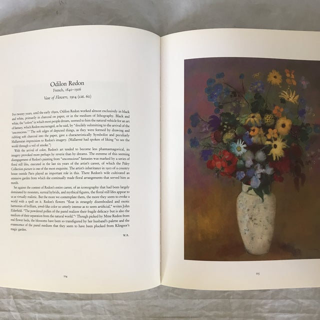 """Paper 1993 """"The William S. Paley Collection"""" First Edition Museum Art Book For Sale - Image 7 of 9"""
