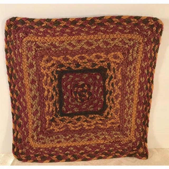 Textile 20th Century Boho Chic Jute Fiber Table Mat For Sale - Image 7 of 7