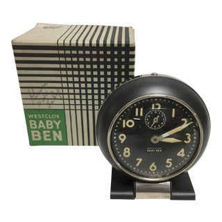 Westclock Baby Ben Alarm Clock For Sale