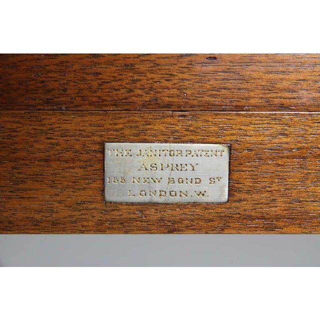 Aspreys London Mahogany Drinks Table For Sale - Image 4 of 10