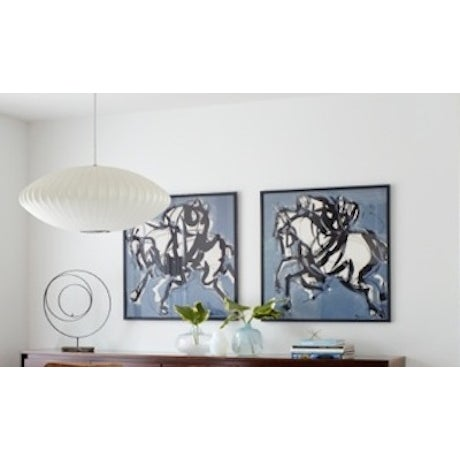 Polo Blue I Painting by Heidi Lanino - Image 2 of 2