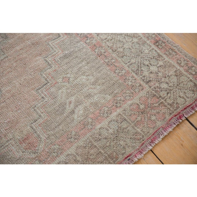 """Distressed Oushak Rug - 3'7"""" X 6'3"""" For Sale In New York - Image 6 of 11"""