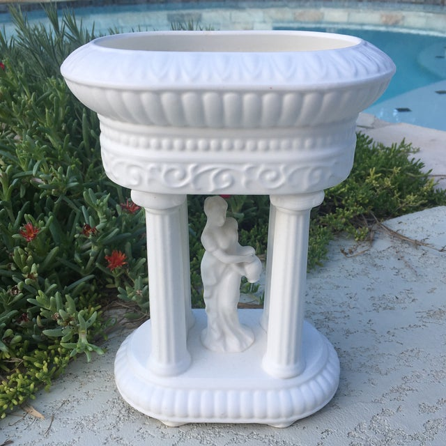 Neoclassical Mid-Century Neoclassical Matte Finish Planter For Sale - Image 3 of 11