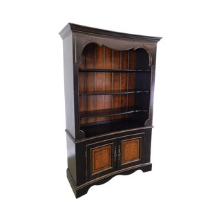 Domain Home Fashions Paint Decorated Tall Open Bookcase For Sale