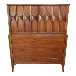 1960s Mid Century Modern Kent Coffey Perspecta Gentlemens Chest/Dresser For Sale