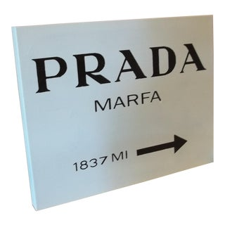 Prada Marfa Sign Painting