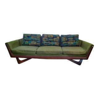 Bassett Mid Century Modern Gondola Sofa