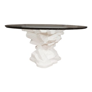 Sirmos Plaster Rock Form Center Table For Sale