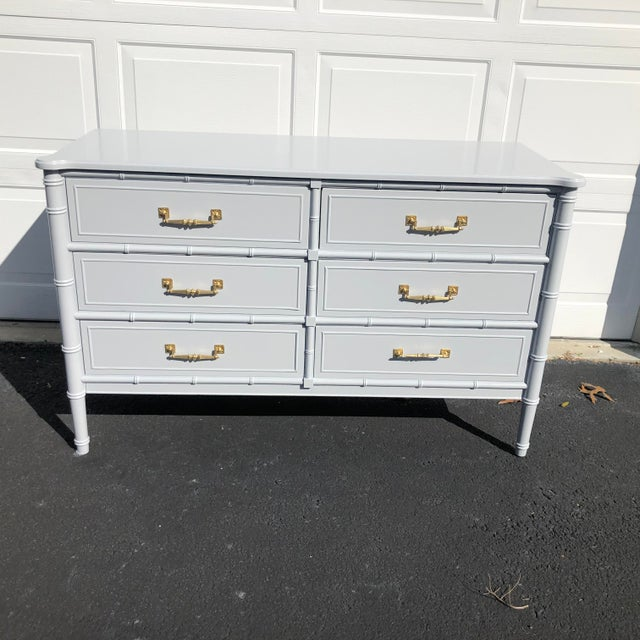 1970s Lacquered Henry Link Dresser For Sale - Image 11 of 12