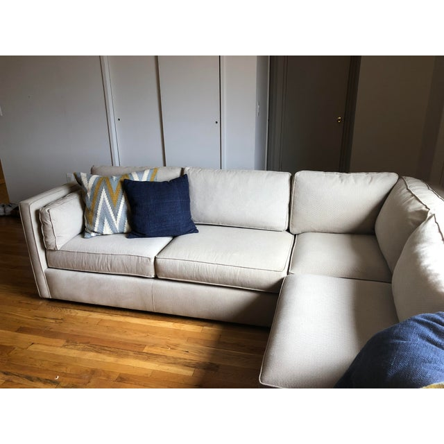 Strange Room Board Beige Watson Sectional Sofa Chairish Pabps2019 Chair Design Images Pabps2019Com
