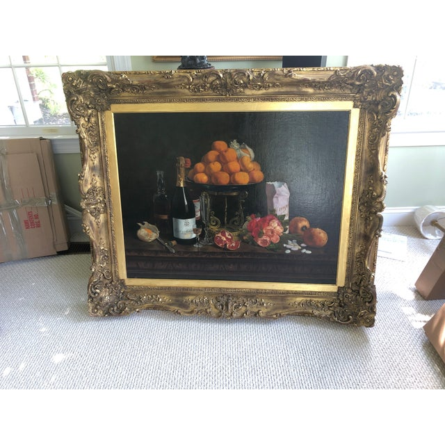 Realist Still Life by Francois Abel For Sale - Image 13 of 13