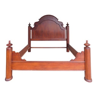 Lexington Vestiges of the Past Mahogany King Size Poster Bed For Sale