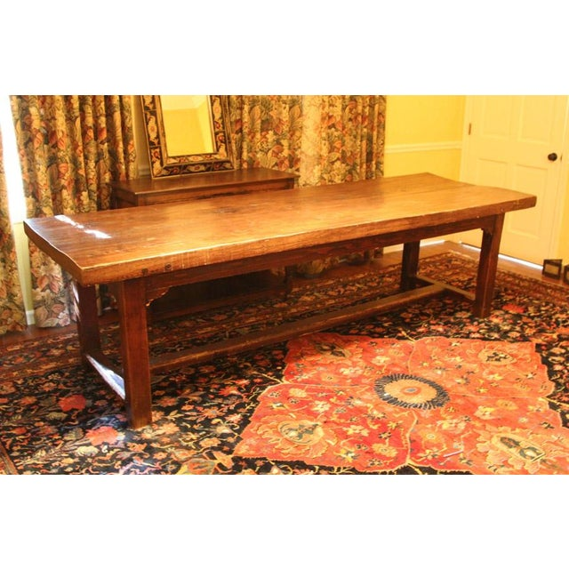 Tressle Dining Table - Image 2 of 7