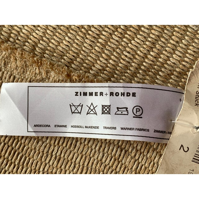 """Transitional Transitional Zimmer and Rohde Etamine """"Adagio"""" Fabric For Sale - Image 3 of 5"""
