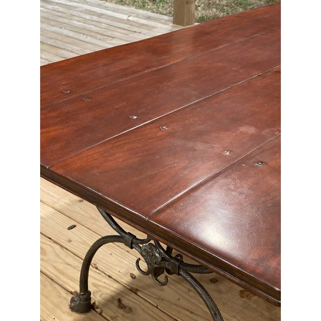 Farmhouse Theodore Alexander Dining Table For Sale - Image 10 of 13