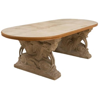 Maison Jansen Dolphin Motif Table For Sale