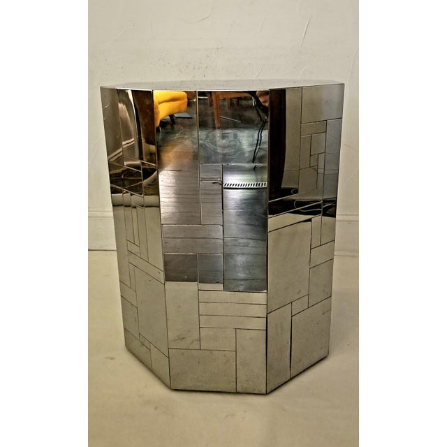 Modern Paul Evans Cityscape Chrome Octagon Base For Sale In San Antonio - Image 6 of 12