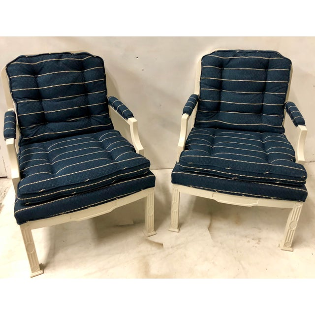 Erwin Lambeth Pair of Erwin Lambeth Chinese Chippendale Chairs For Sale - Image 4 of 10