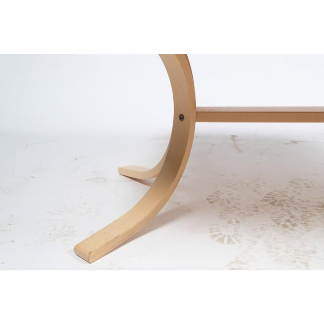 Wood Asko Mid-Century Modern-Style Birch Coffee Table For Sale - Image 7 of 11
