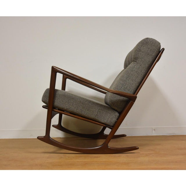 Ib Kofod Larsen for Selig Rocking Chair - Image 4 of 11