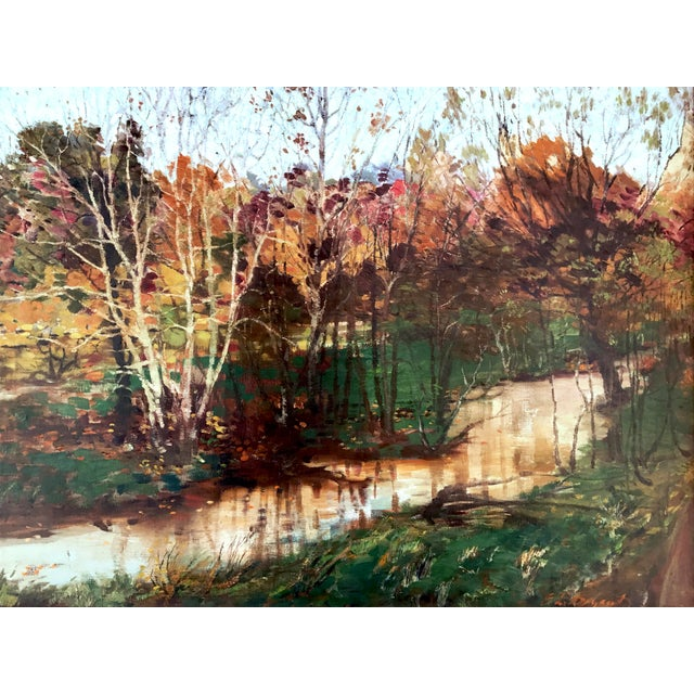 Fall Landscape Oil Painting by Everett Loyd Bryant - Image 2 of 6