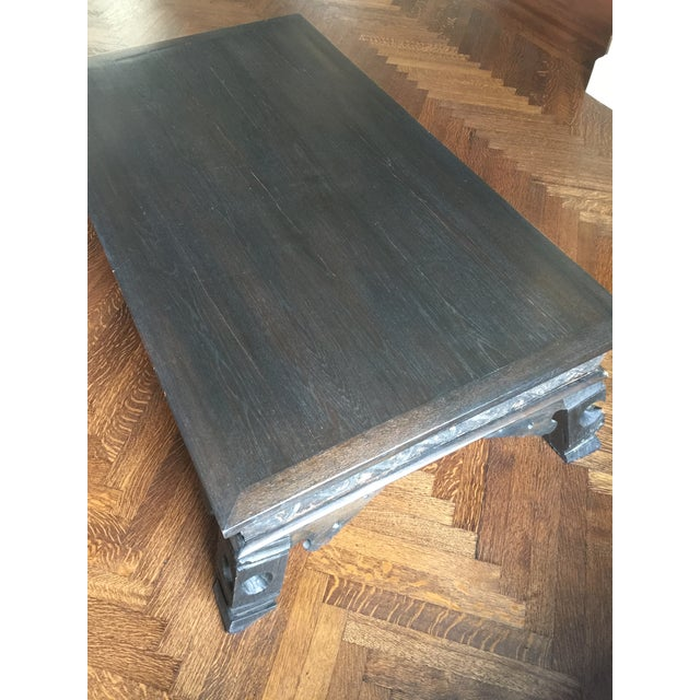 19th Century Thailand Teak Wood Coffee Table For Sale - Image 4 of 7