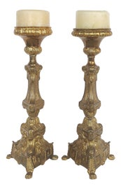 Image of Rococo Candle Holders