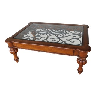 Ethan Allen Regency Style Coffee / Cocktail Table For Sale