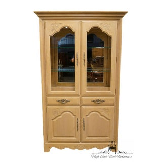 Stanley Furniture Country French Blonde Display China Cabinet Preview