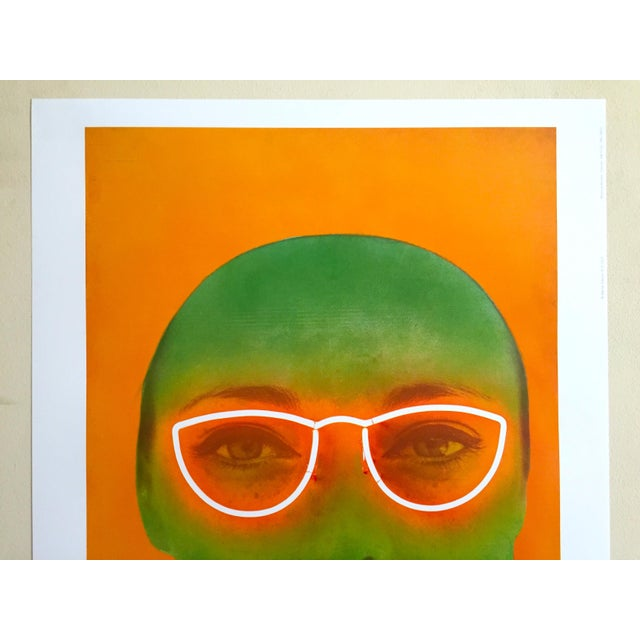 """This Martial Raysee Moderna Museet lithograph print Pop Art poster """" France Verte """" 1964, is a very special and unique..."""